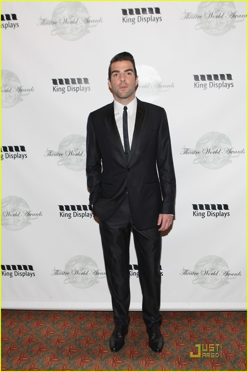 zachary quinto theatre world awards 01
