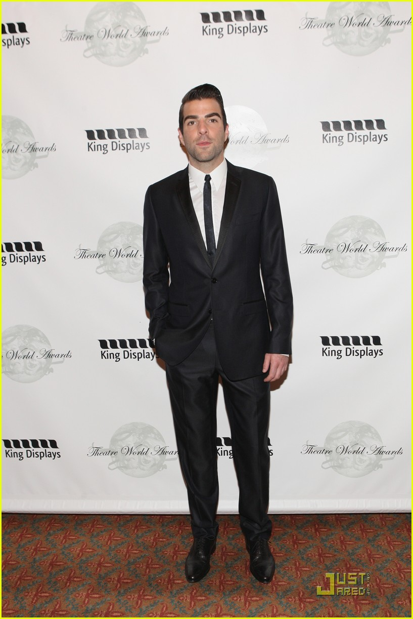 zachary quinto theatre world awards 04