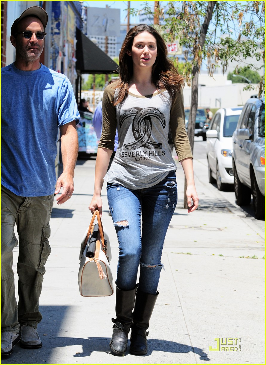 emmy rossum lunch with dj caruso 022549159