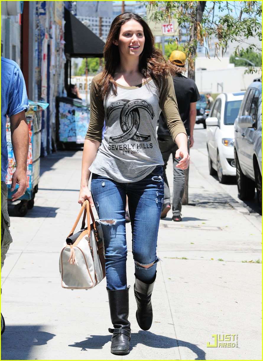 emmy rossum lunch with dj caruso 092549166