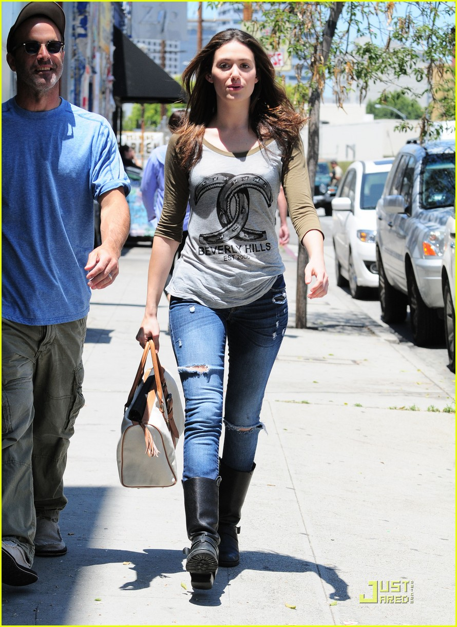 emmy rossum lunch with dj caruso 122549169