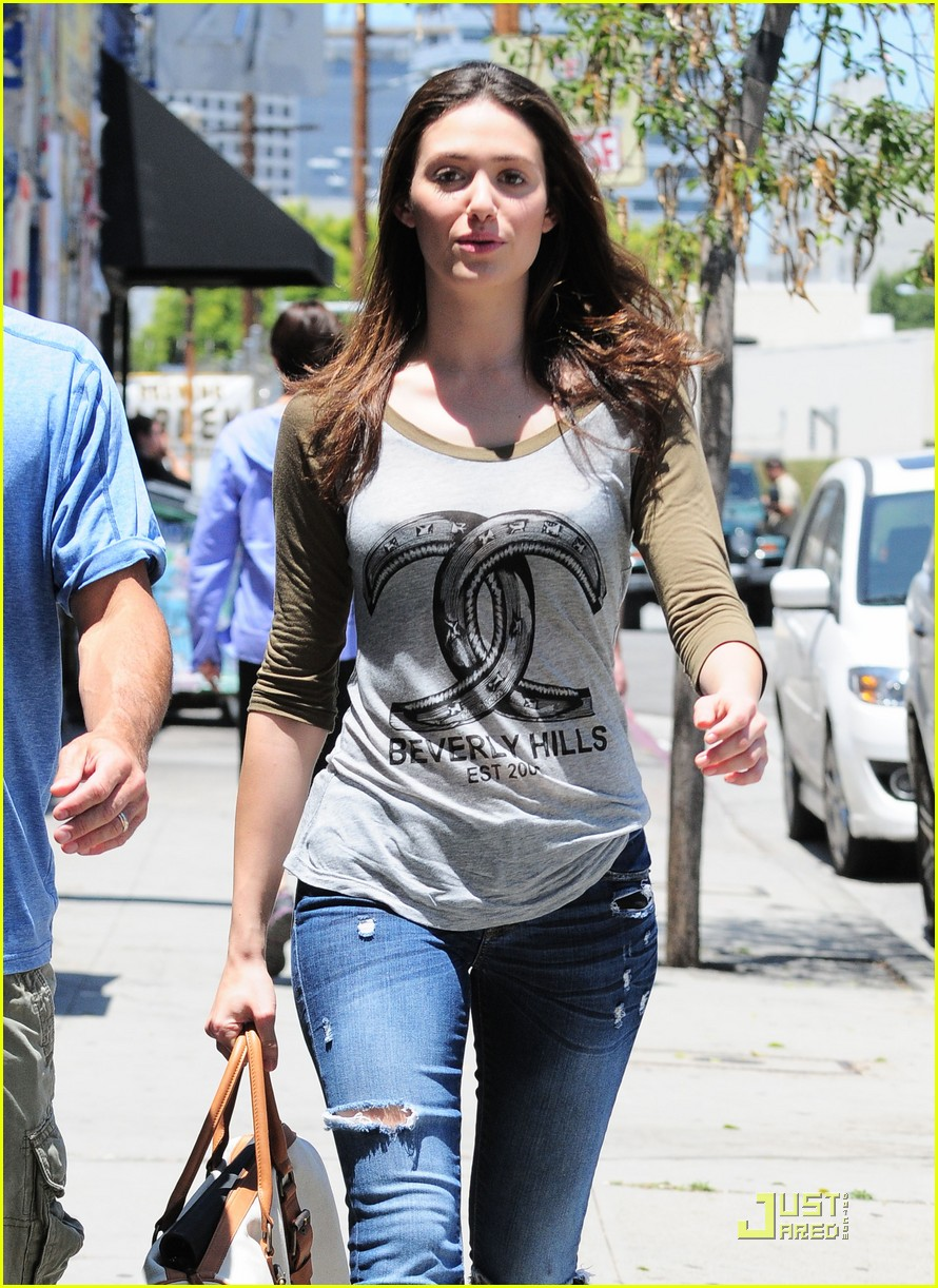 emmy rossum lunch with dj caruso 132549170