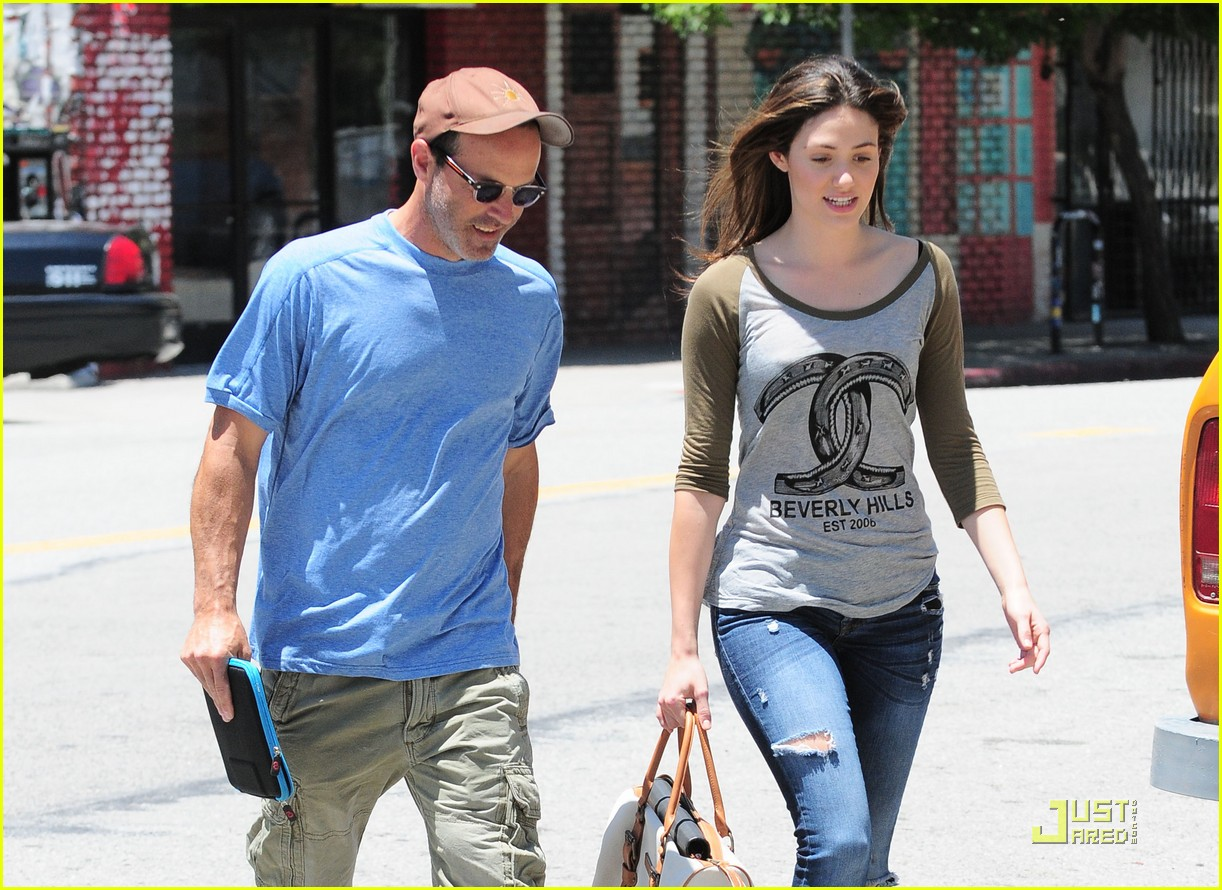 emmy rossum lunch with dj caruso 142549171