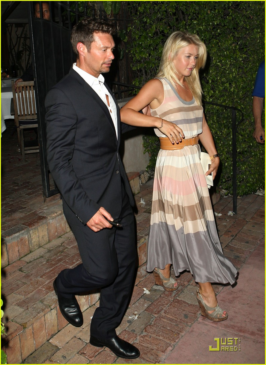 Full Sized Photo of ryan seacrest julianne hough fun in ...