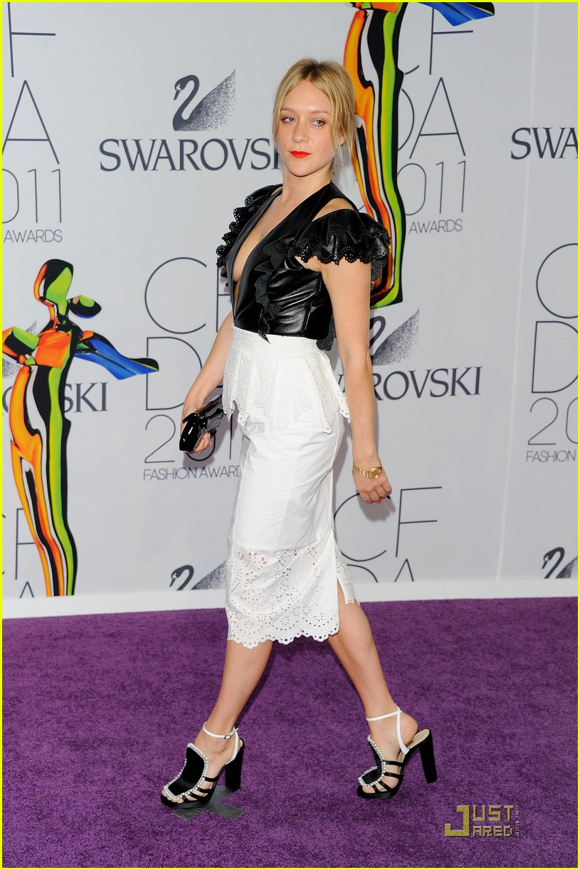 chloe sevigny cfda awards 02