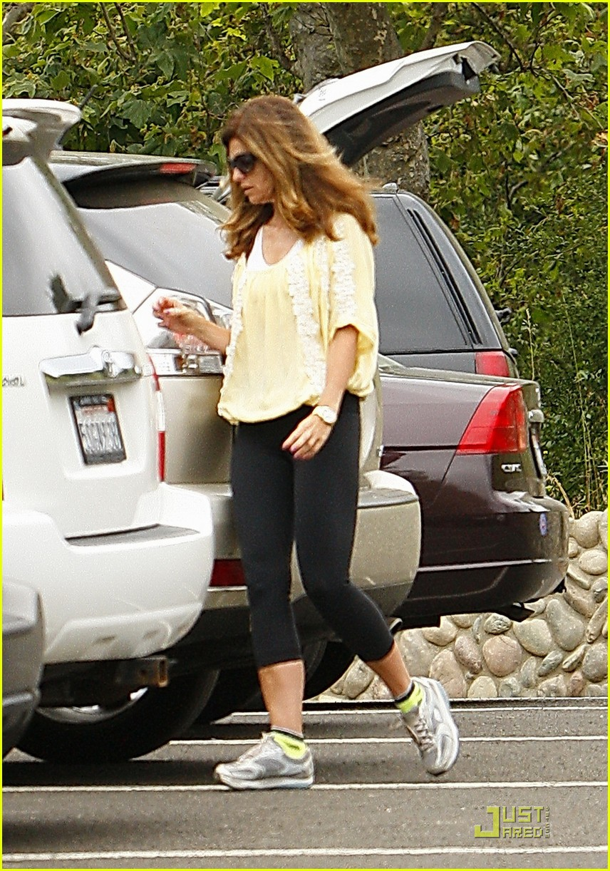 maria shriver hikes arnold patrick schwarzenegger lunch 132551626