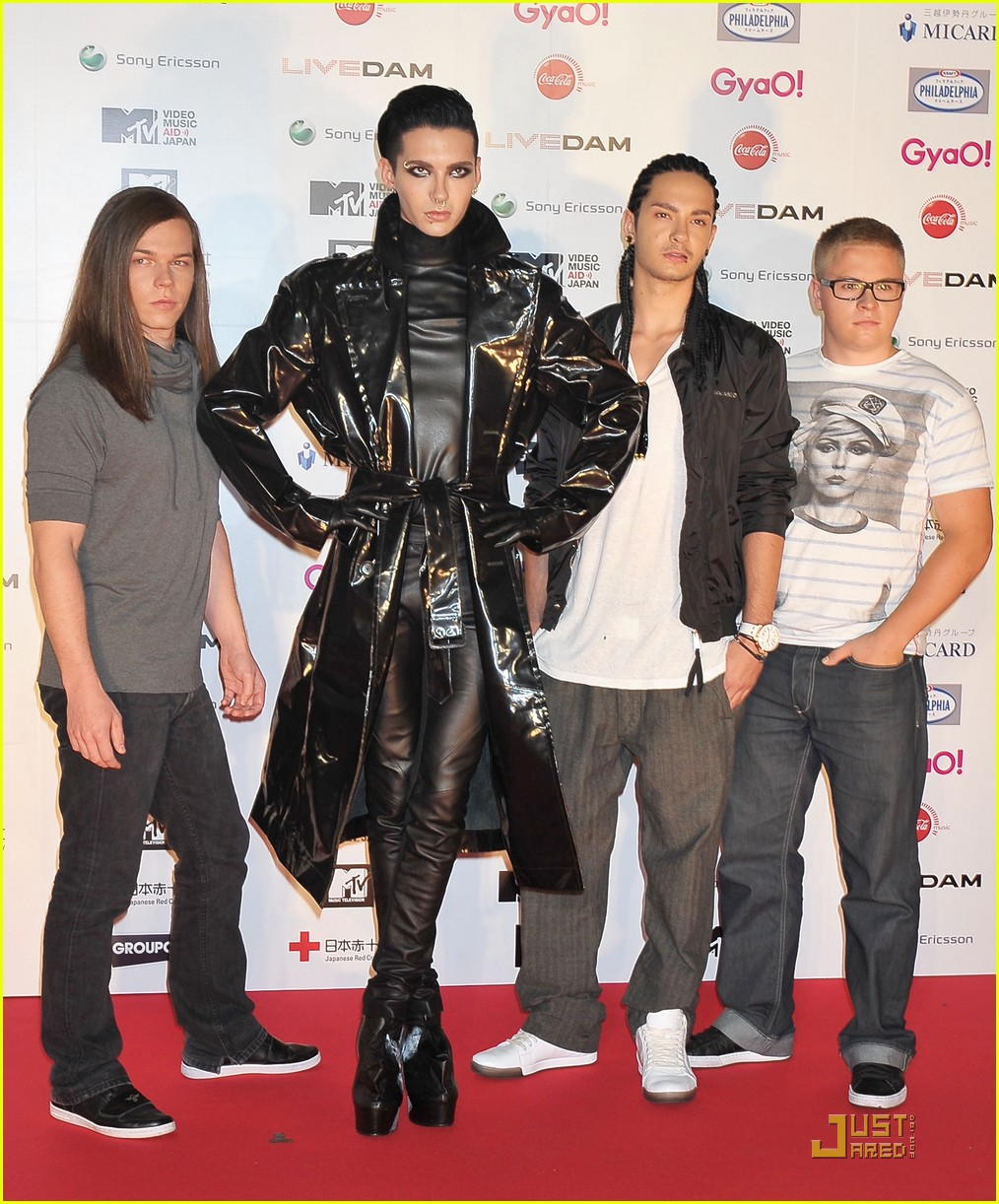 Tokio Hotel Mtv Video Music Aid Japan Performance Photo 2555466