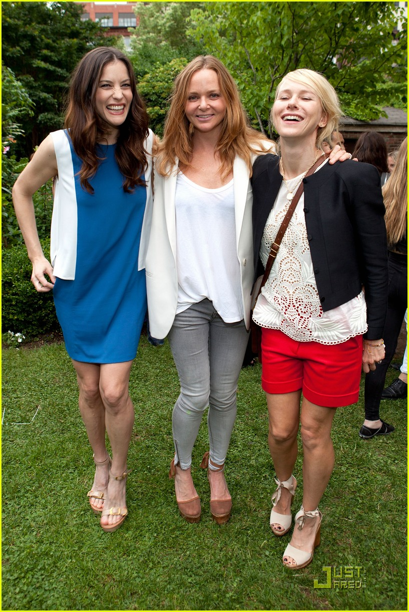 liv tyler naomi watts stella mccartney presentation 072552492