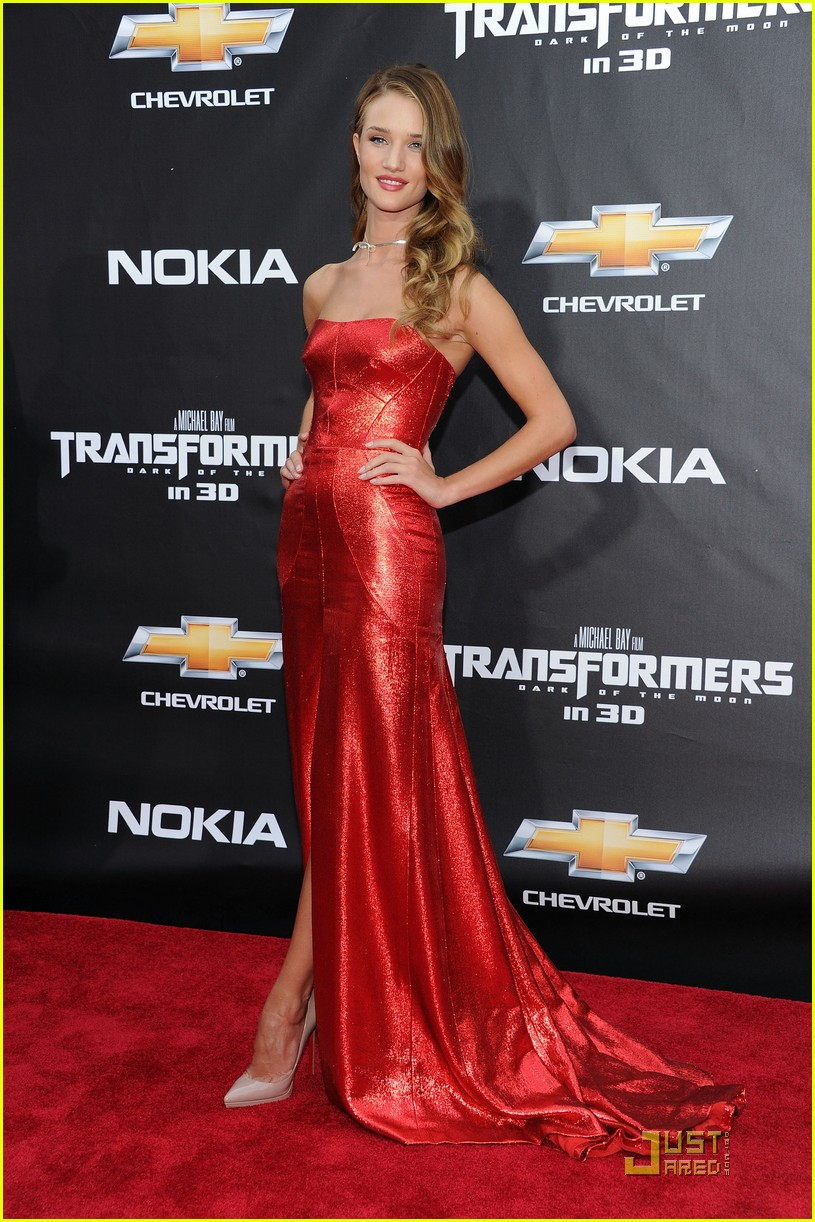 rosie huntington whiteley tranformers nyc premiere 012556129