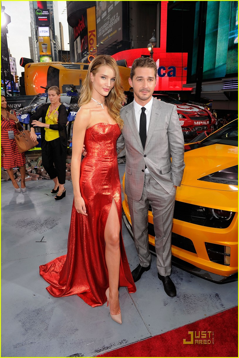 rosie huntington whiteley tranformers nyc premiere 052556133