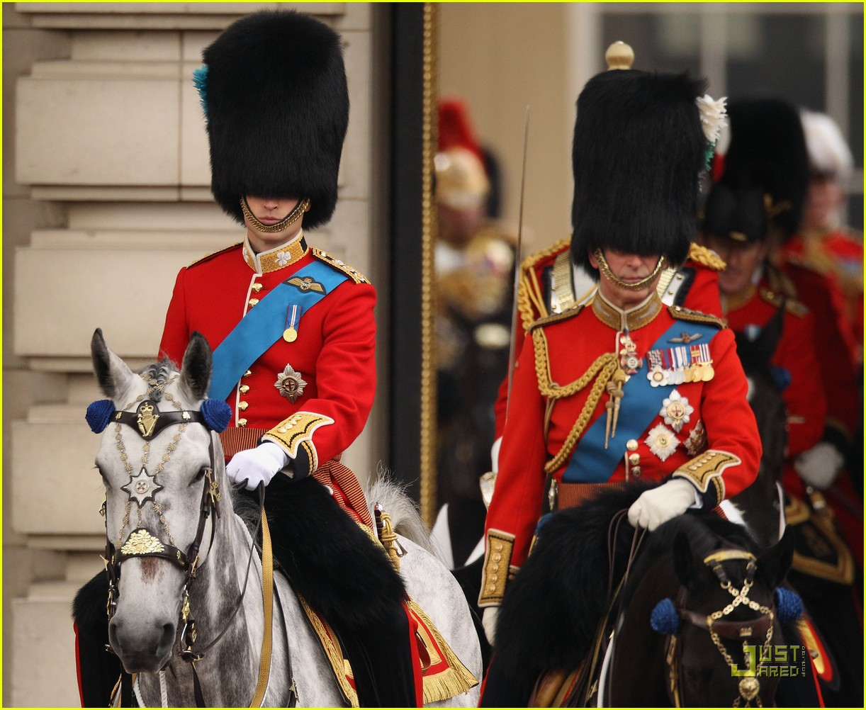 prince william kate middleton troopping colour 16