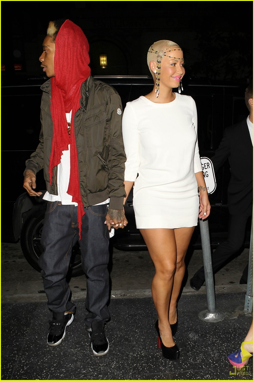 wiz khalifa amber rose 01