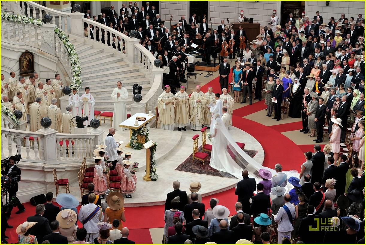 prince albert princess charlene royal wedding 082557170