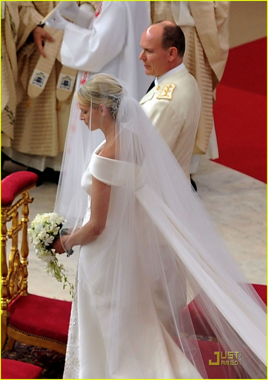 Prince Albert & Princess Charlene: Monaco Royal Wedding!: Photo ...