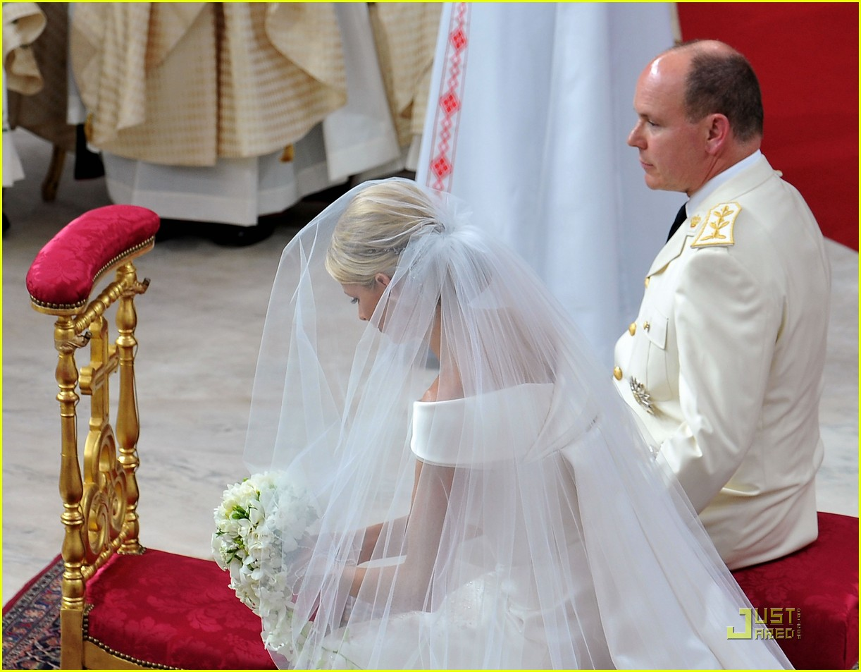 prince albert princess charlene royal wedding 18