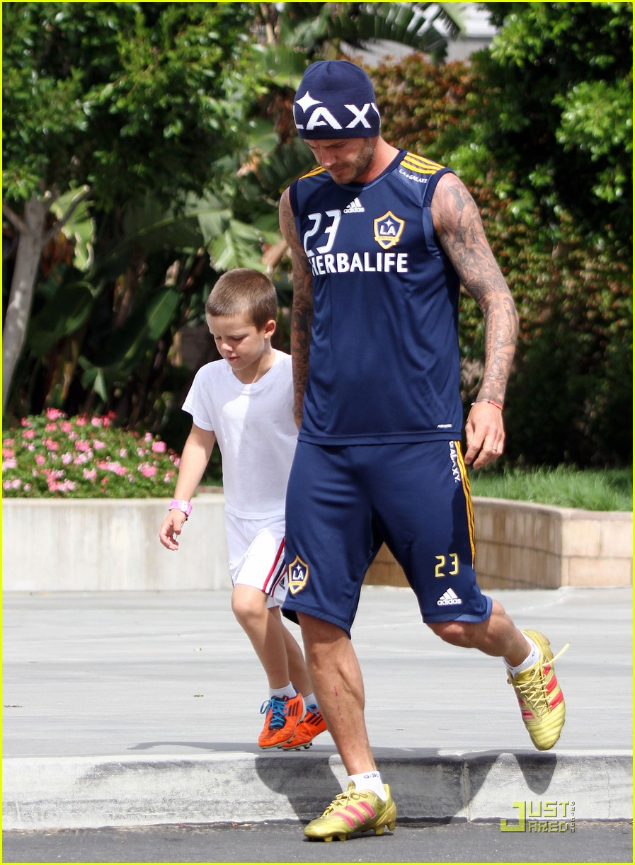 david beckham romeo cruz training 062561225