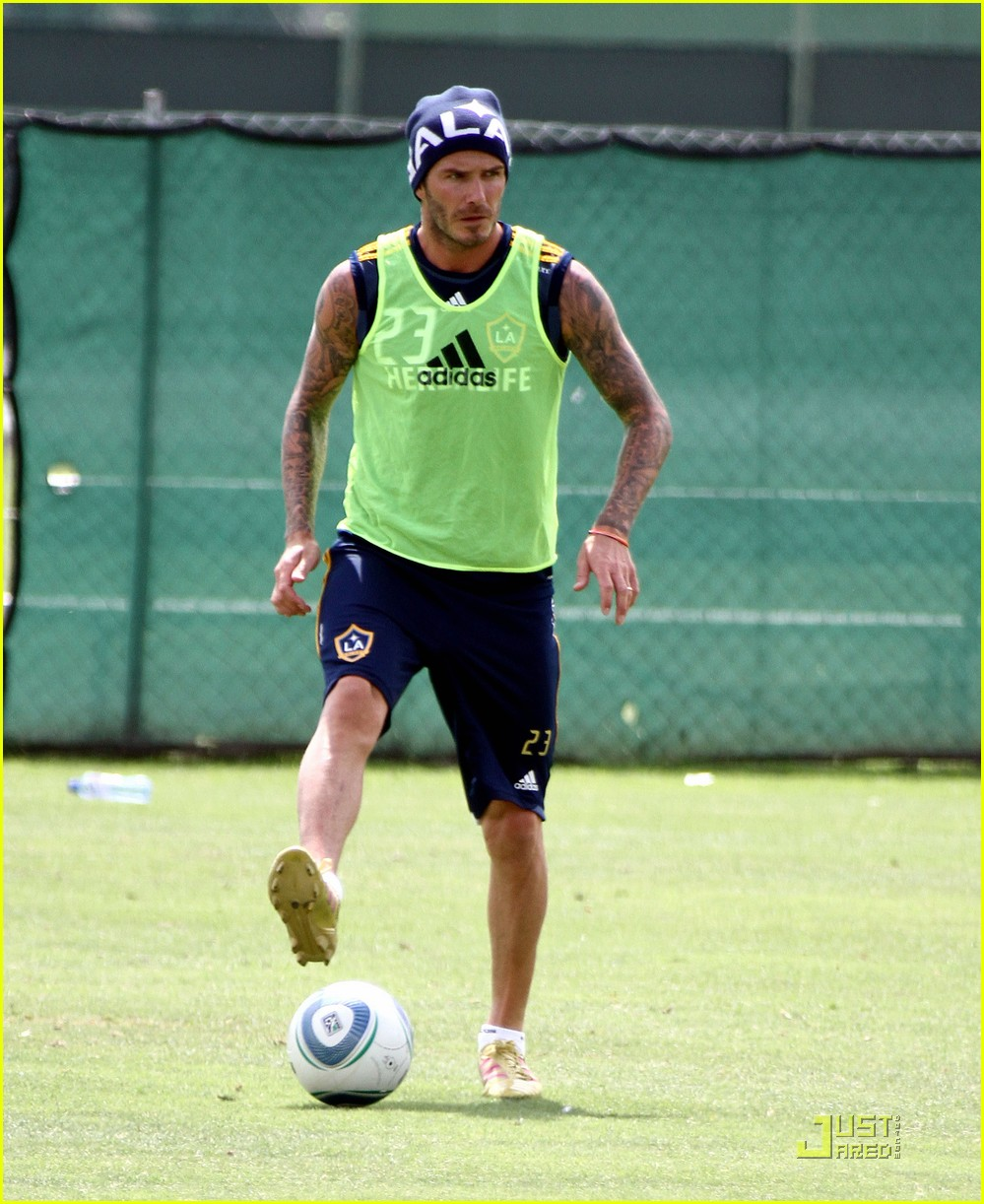 david beckham romeo cruz training 092561228