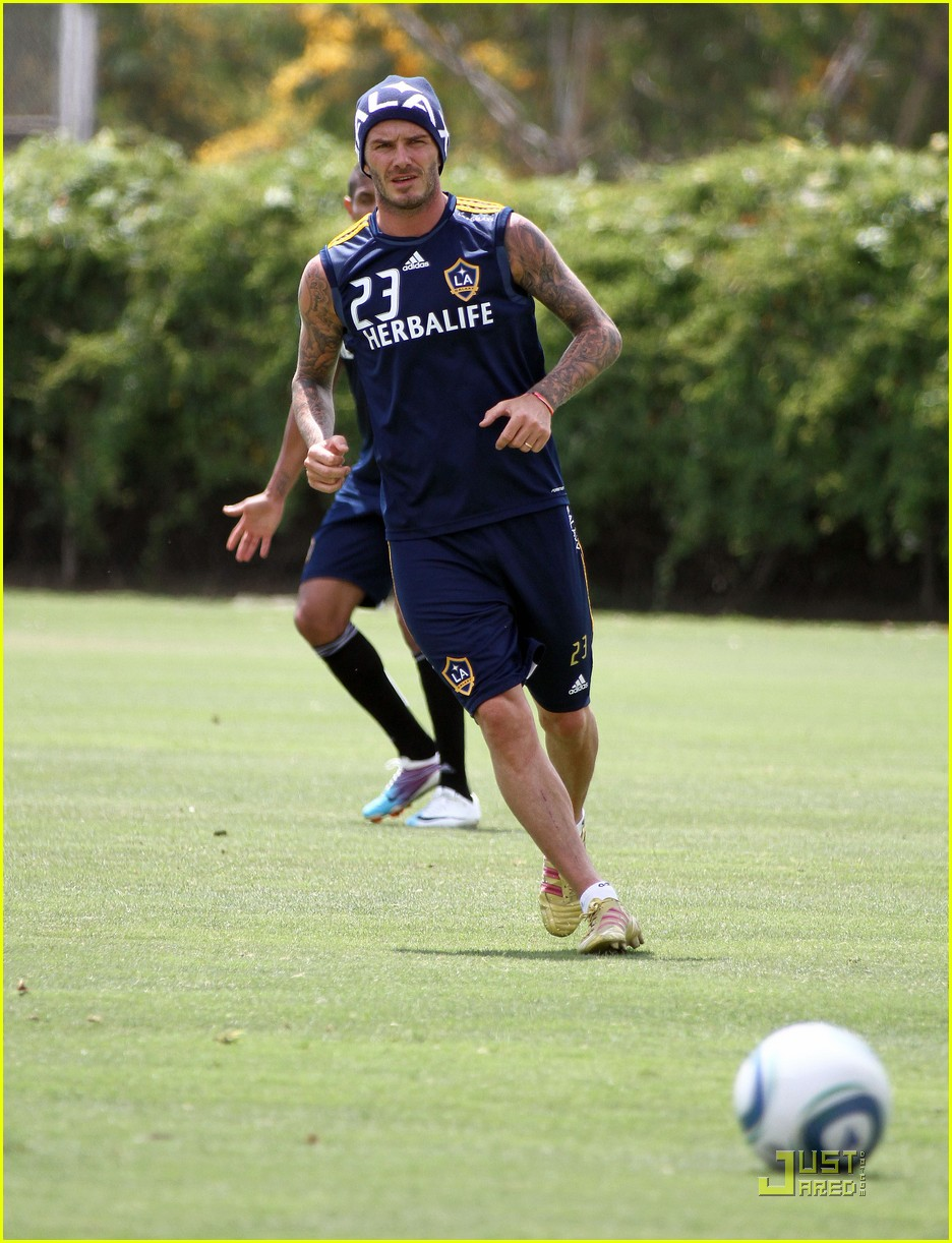 david beckham romeo cruz training 132561232