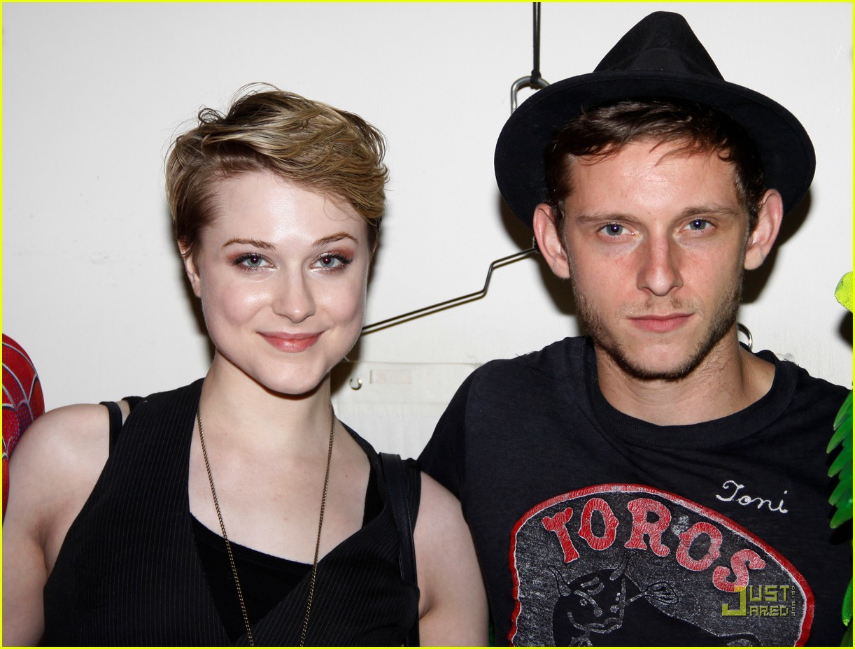 evan rachel wood jamie bell back together 02