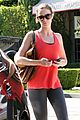 emily blunt red tank workout 03