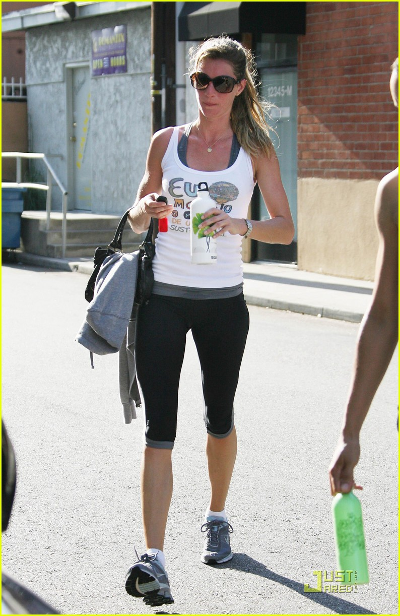 Full Sized Photo of gisele bundchen gym 06 | Photo 2558847 ... Gisele Bundchen