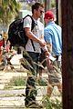 josh duhamel fire filming 07