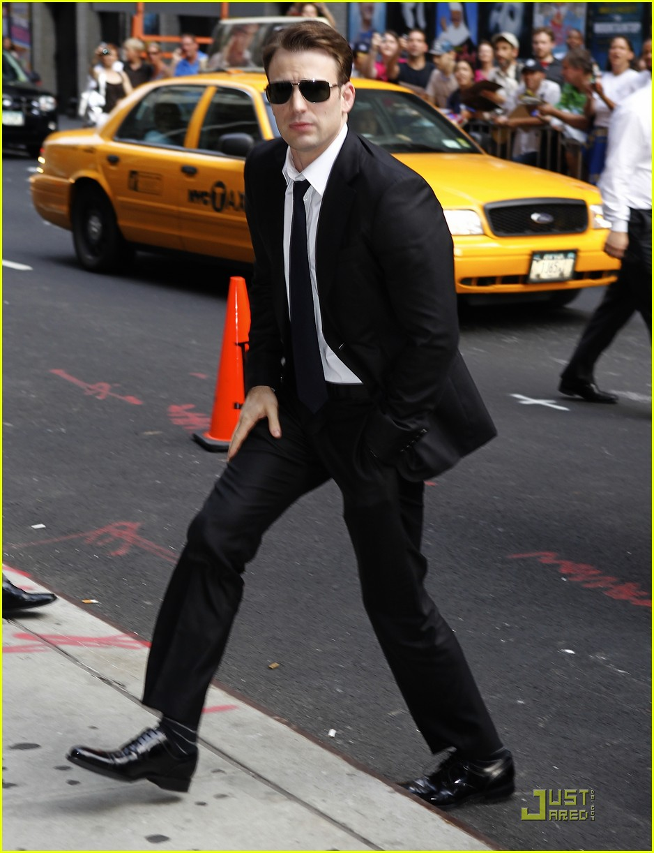 chris evans letterman 02