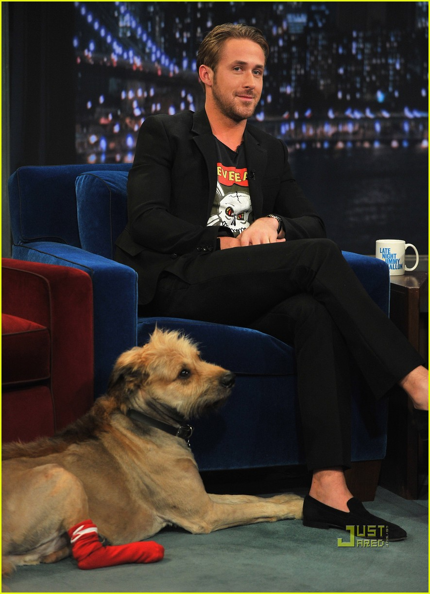 ryan gosling late night jimmy fallon 09