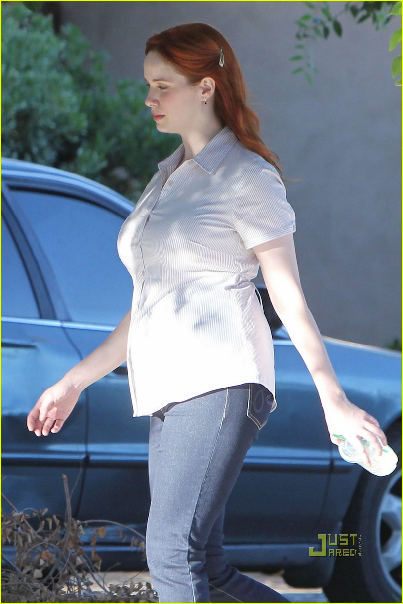christina hendricks chris colfer struck by lightning 062562042
