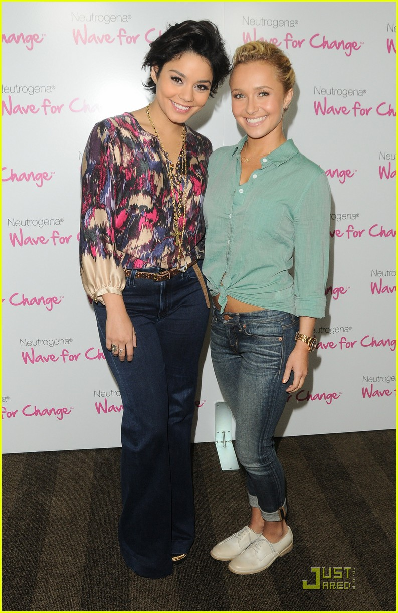 vanessa hudgens hayden panettiere wave for change 02