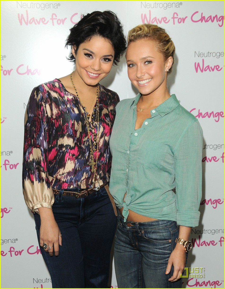 vanessa hudgens hayden panettiere wave for change 05