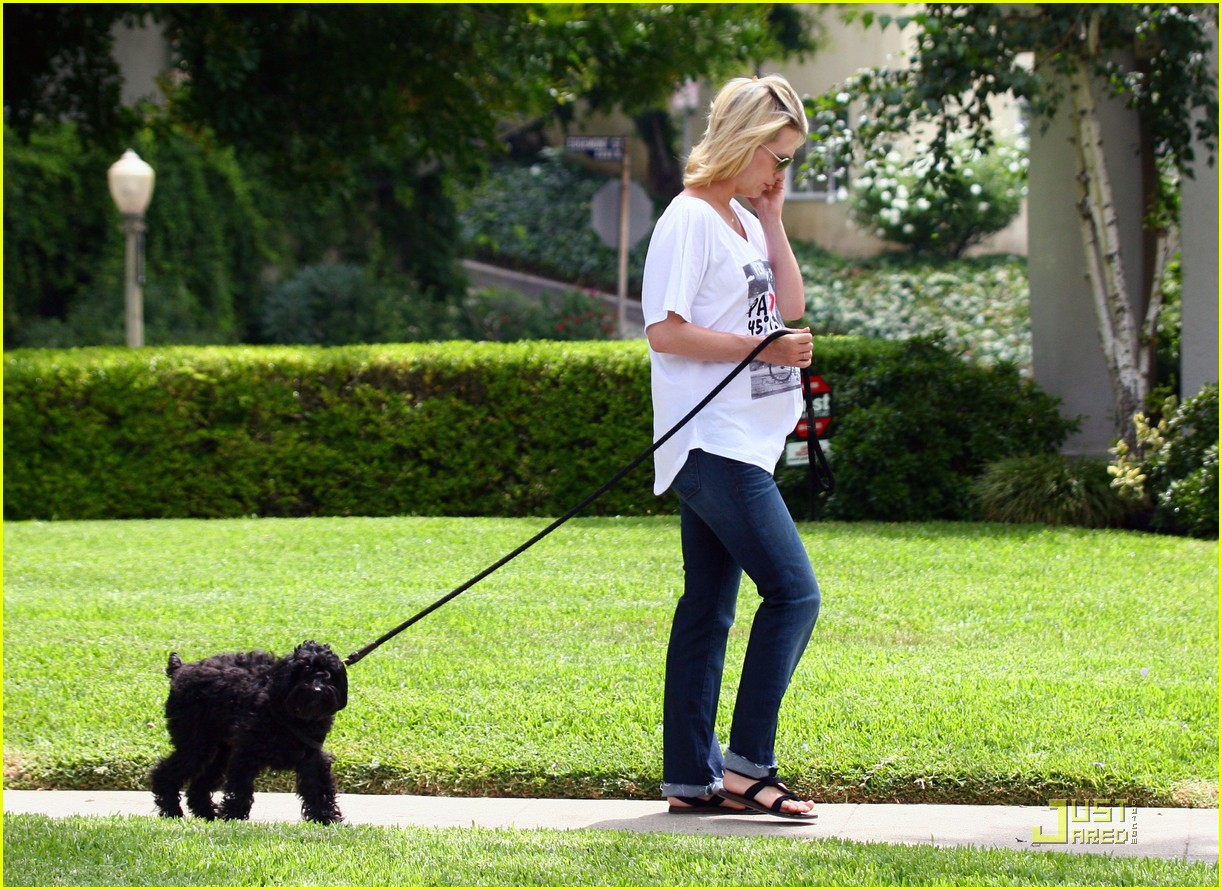 january jones walks dog 072565129