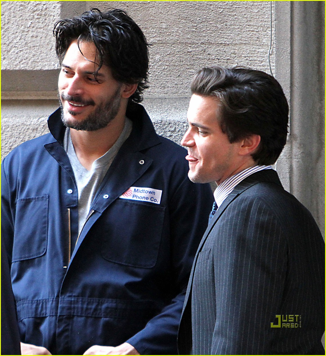 joe manganiello white collar set matt bomer 022558000