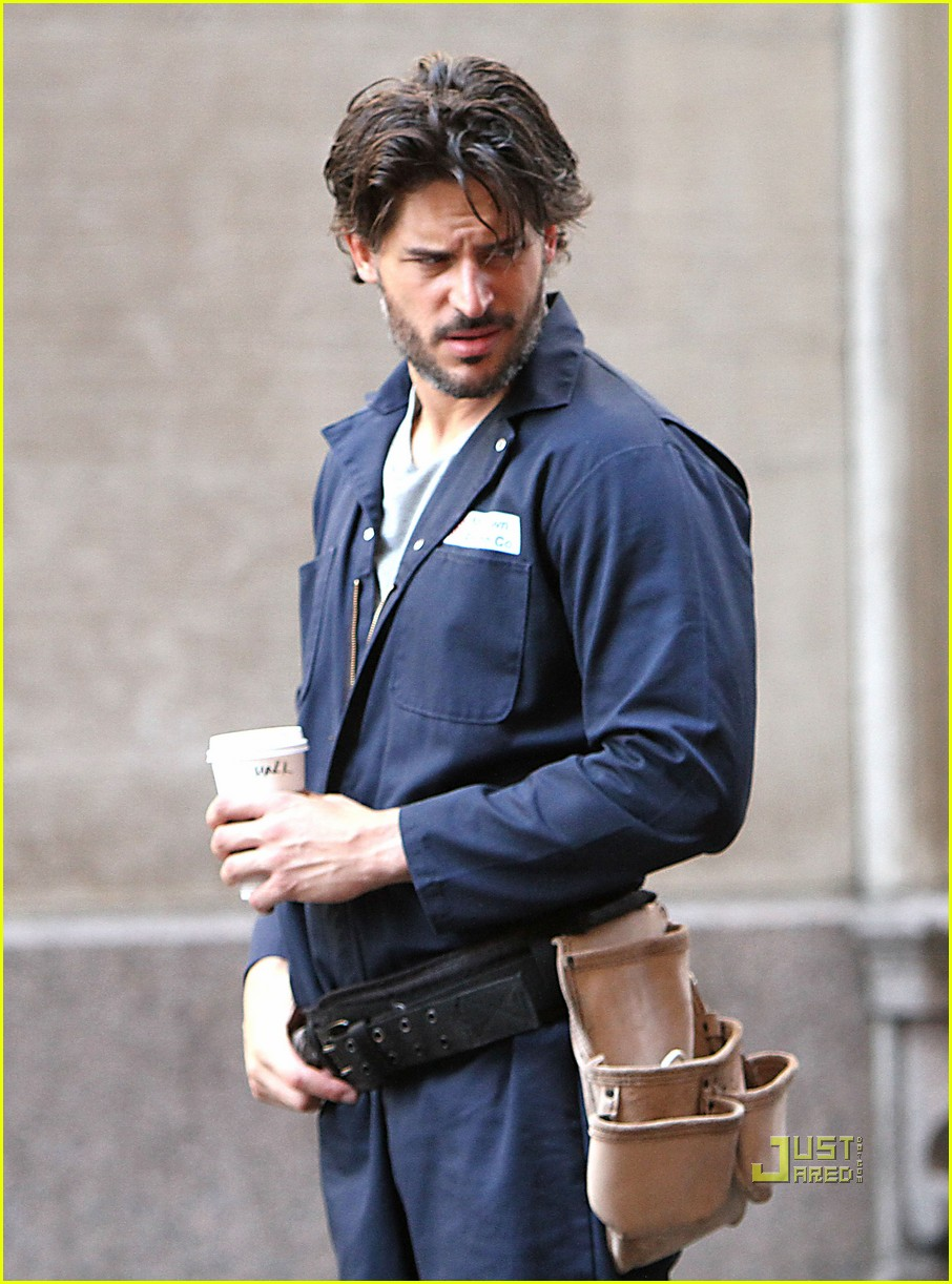 joe manganiello white collar set matt bomer 04