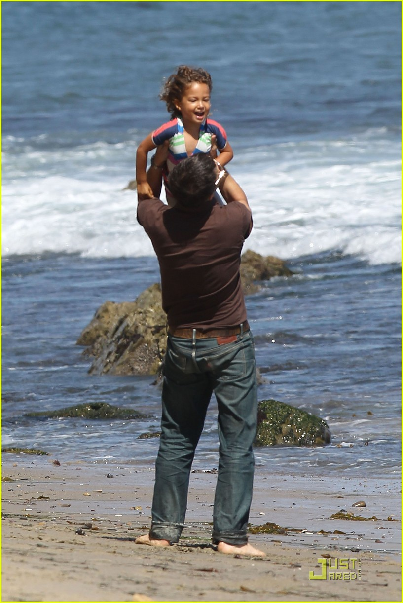 olivier martinez nahla beach playtime 182565208