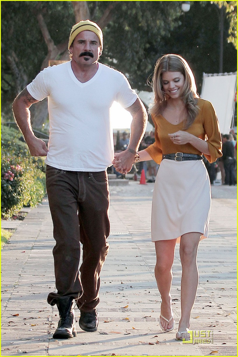 annalynne mccord dominic purcell new couple 042560966