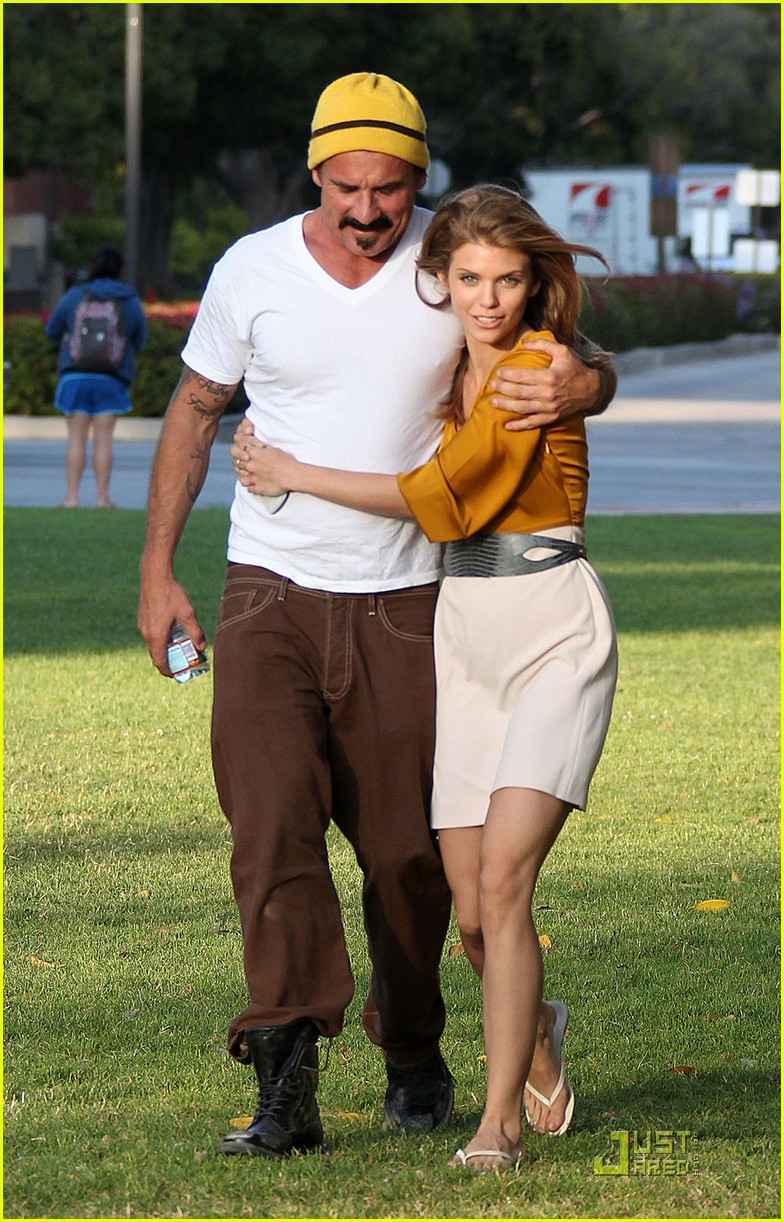 annalynne mccord dominic purcell new couple 062560968