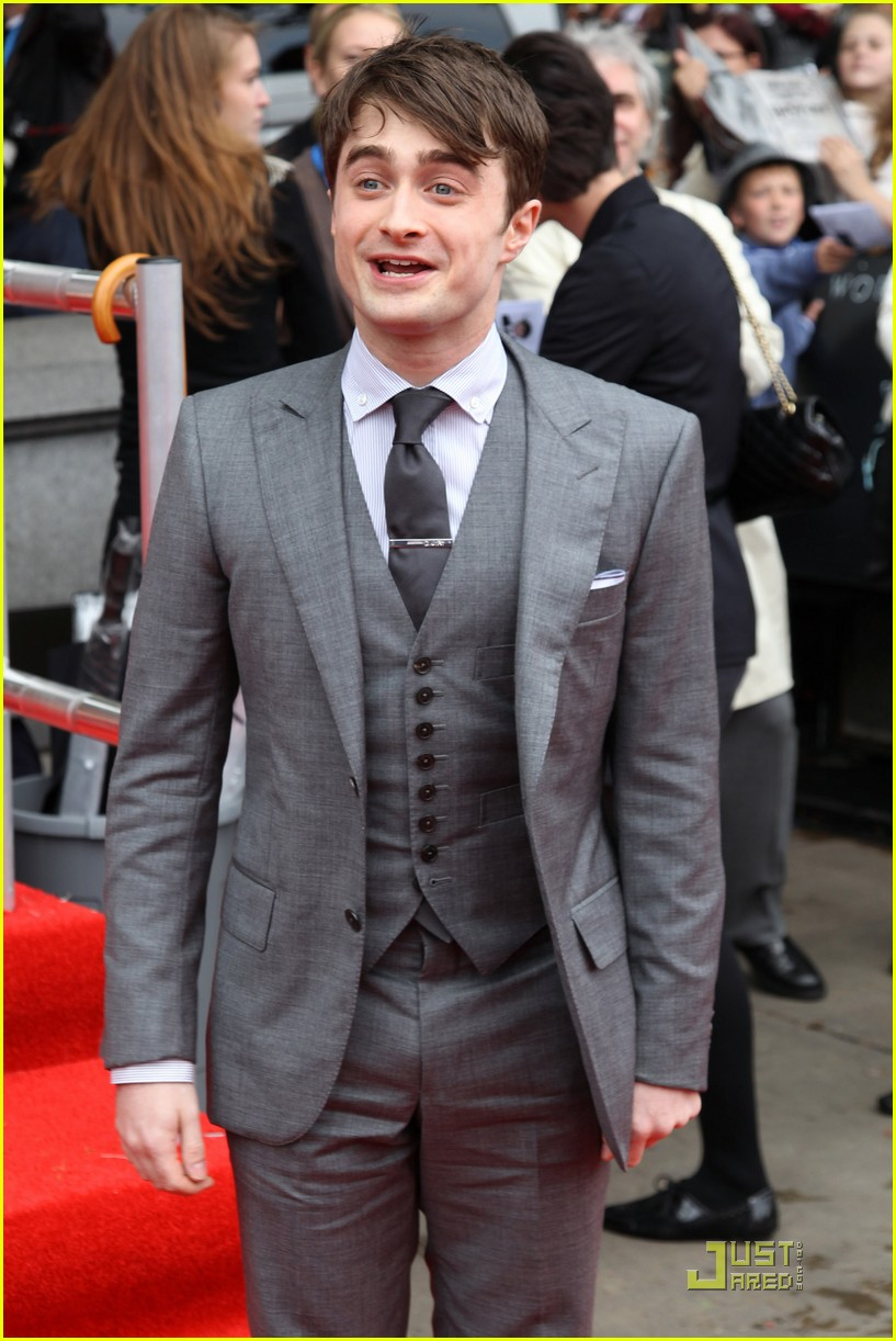 daniel radcliffe rupert grint deathly hallows premiere 28