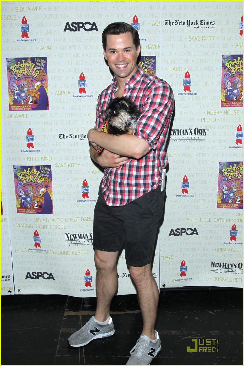 andrew rannells rory omalley broadway barks 012559393