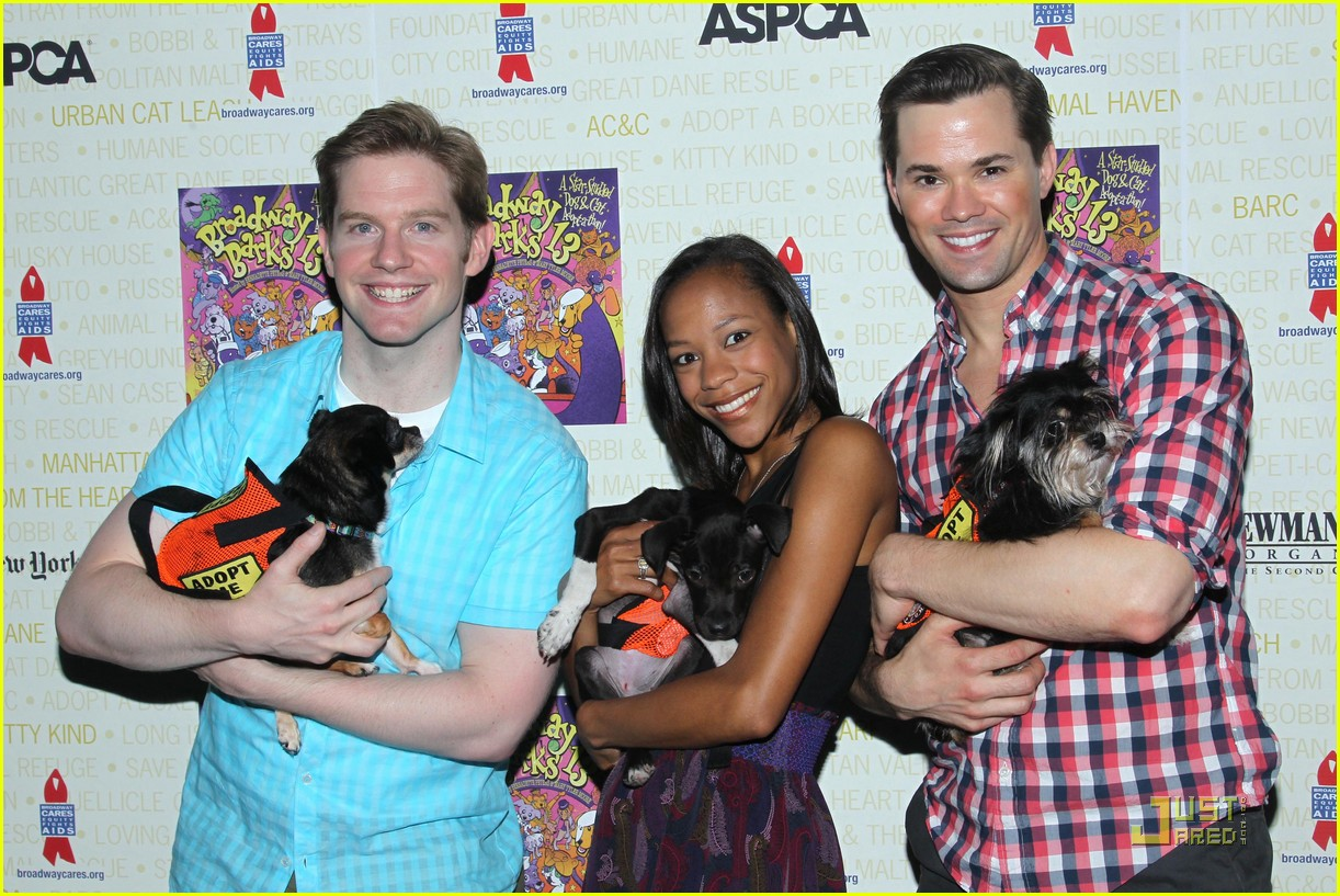 andrew rannells rory omalley broadway barks 022559394