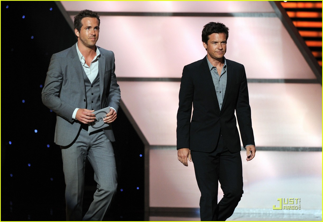 ryan reynolds jason bateman espy awards 2011 072560506