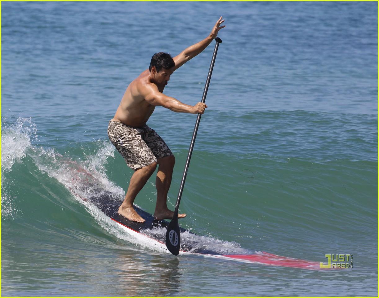 leann rimes bikini eddie cibrian shirtless malibu beach 142557877