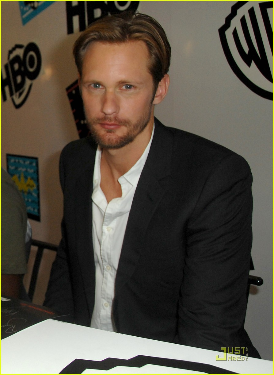 alexander skarsgard true blood panel at comic con 012563034