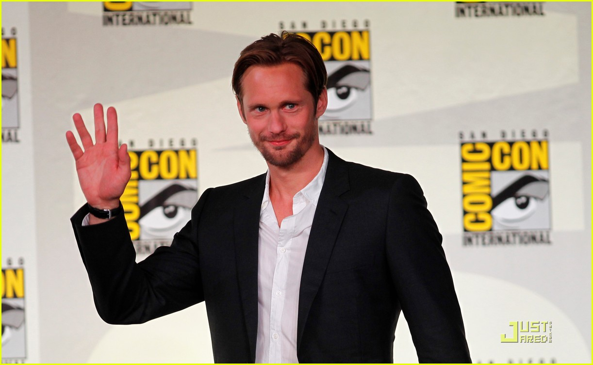 alexander skarsgard true blood panel at comic con 02