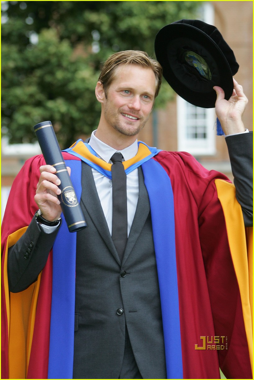 alexander skarsgard honorary degree leeds 06