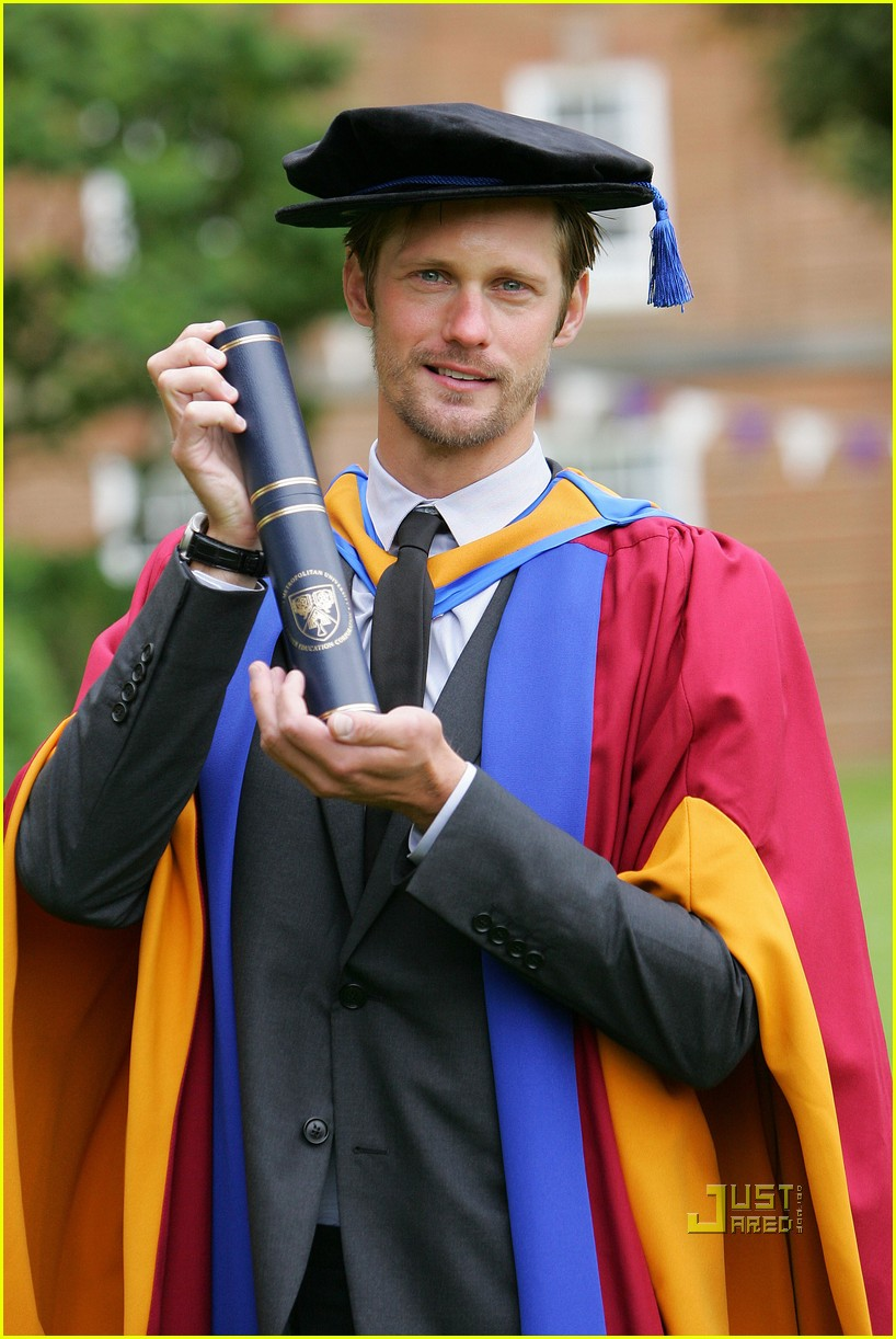 alexander skarsgard honorary degree leeds 09