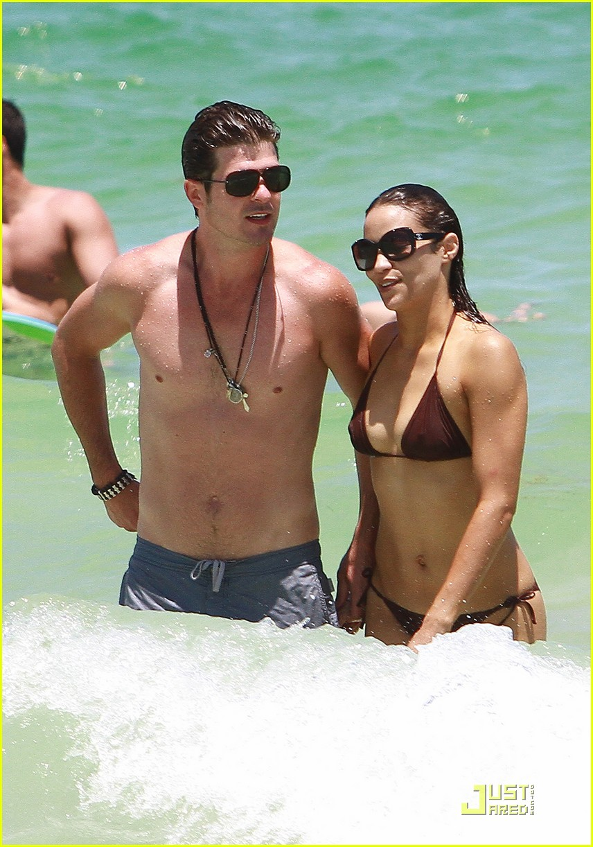 robin thicke paula patton miami mates 022559549