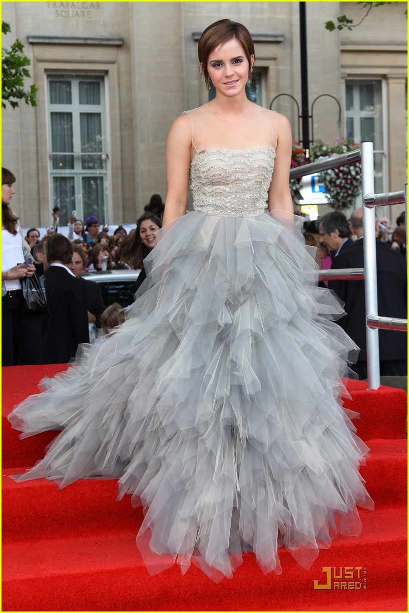 Emma Watson Harry Potter And The Deathly Hallows Part 2 Premiere Dress Emma Watson: &#...