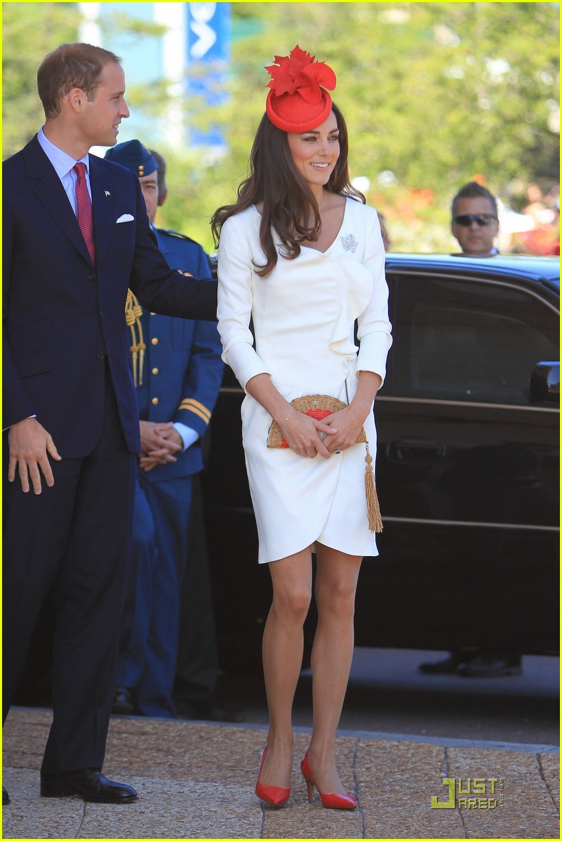Prince William Kate Celebrate Canada Day