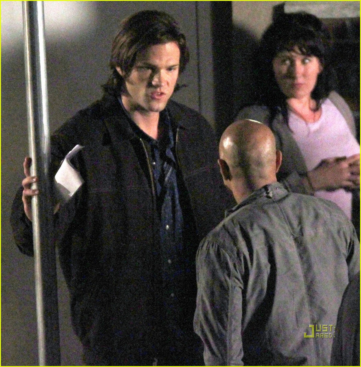 jared padalecki jensen ackles supernatural night shoot 012572042